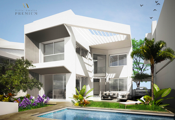 EXCLUSIVE SEASIDE VILLAS IN BEAUTIFUL LA VELETA - TORREVIEJA - Lotus Properties